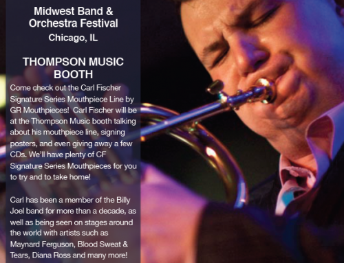 Carl at the Midwest Band Clinic December 15 from 12pm-2pm