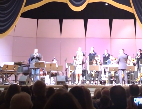 "VIDEO: The ""Have Horn Will Travel Tour"" hits the University of North Texas"